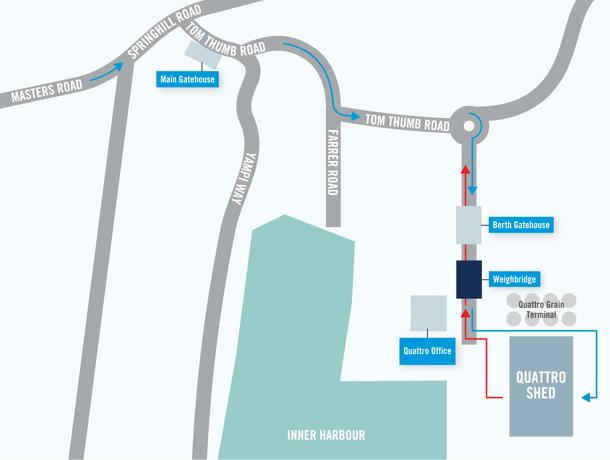 location plan for port kembla